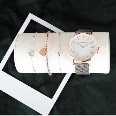 Armband aus Edelstahl, rosa, Kugel/Herz__1056335__2