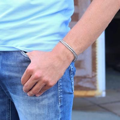 Stalen armband gourmet