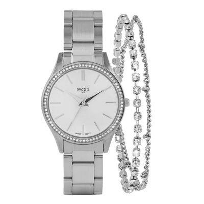 Regal Armbanduhr & Armband in Geschenkbox