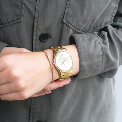Regal Damenarmbanduhr & Armband in Geschenkbox