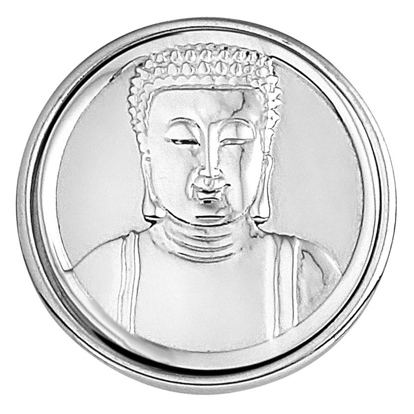 Stalen chunk Buddha