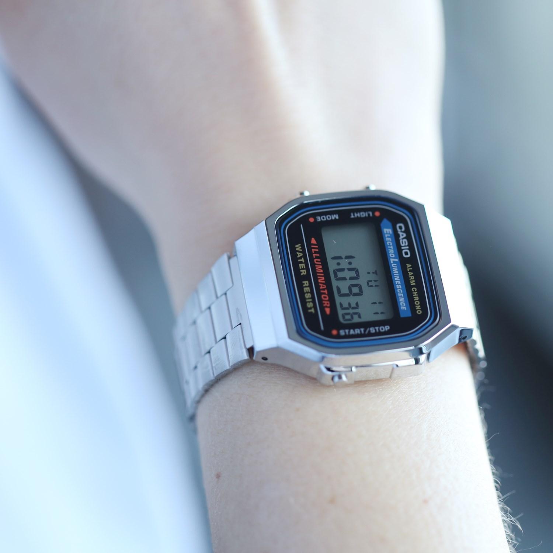Casio Retro horloge A168WA-1YES
