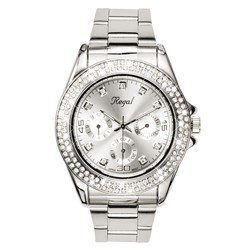 Regal horloge zilverkleurige band R14444-642__1007067__0__thumb