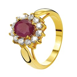 Vergoldeter Eve Ring mit Rubin und Zirkonia__1013479__0__thumb