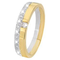 Zweifarbiger Goldring mit Diamant__1013659__0__thumb