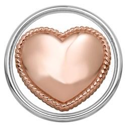 Stalen chunk hart roseplated__1018389__0__thumb