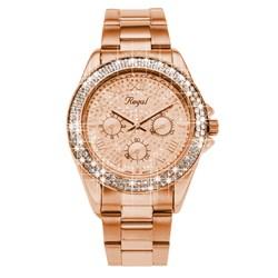 Regal horloge Glitter rosekleurige band R1349R-622__1019340__0__thumb