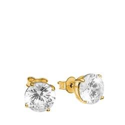 Vergoldete Ohrringe quadratisch mit Zirkonia__1019903__0__thumb