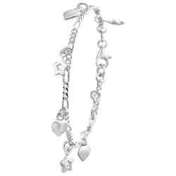 Zilveren kinderarmband hart en ster__1020106__0__thumb