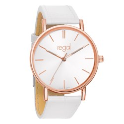 Regal slimline horloge witte leren band R1628R-19__1020194__0__thumb