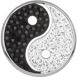 Stalen chunk yin/yang met kristal__1020259__0__thumb