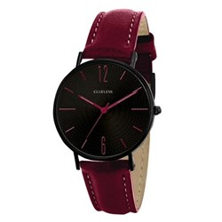 Clueless horloge met burgundy leren band__1043543__0__thumb