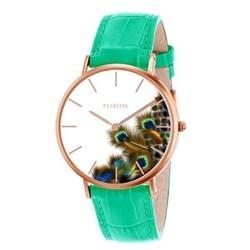 Clueless horloge met turquoise leren band__1043610__0__thumb