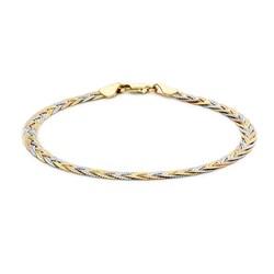 9 Karaat tricolor armband herringbone__1047172__0__thumb