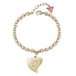 Guess stalen goldplated armband met hanger hart__1052292__0__thumb