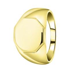 Goudkleurige byoux zegelring zeshoek__1058201__0__thumb