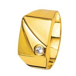 Siegelring in Gelbgold mit Zirkonia__27206285__0__thumb