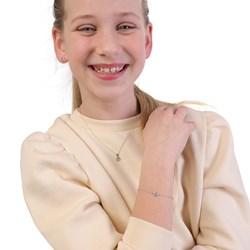 Silberne Kinderkette offenes Herz mit Zirkonia__1044220__4__thumb