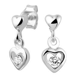 Silberne Kinderohrringe Herz mit Zirkonia__1020168__0__thumb