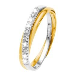 Zweifarbiger Goldring mit Diamant__17054065__0__thumb