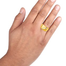 Siegelring in Gelbgold mit Zirkonia__27206285__1__thumb