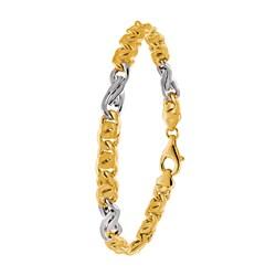 Bicolor-Armband für Herren Gold__20905062__0__thumb