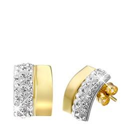Ohrringe aus 585 Gelbgold mit Kristall__1007634__0__thumb
