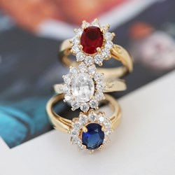 Vergoldeter Ring mit weißem Zirkonia__1035383__3__thumb