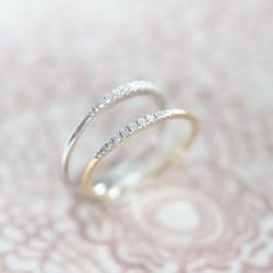 14 Karaat witgouden ring met diamant (0,06ct)__1047312__3__thumb