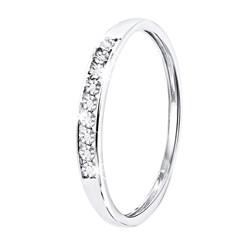 Ring aus 585 Weißgold mit Diamant (0,06 ct)__1047466__2__thumb