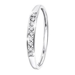 Ring aus 585 Weißgold mit Diamant (0,06 ct)__1047466__0__thumb