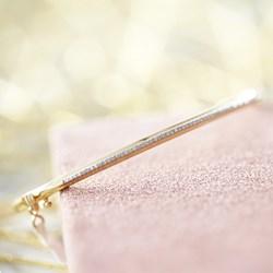 14 Karaat geelgouden armband met diamant 0,16ct__1047965__2__thumb