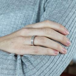 14 Karaat witgouden ring met diamant 0,20CT__1057476__1__thumb