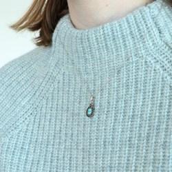 Zilveren ketting&hanger turquoise Bali__1048762__1__thumb