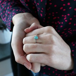 Zilveren ring turquoise Bali__1048770__1__thumb