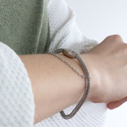 Stalen armband mesh__1041142__1__thumb