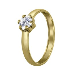 ring 14 karaat goud