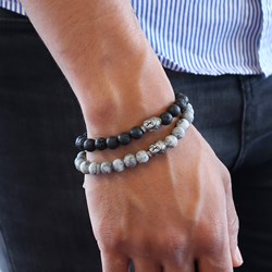 Stalen armband met lava stenen boeddha__1049914__1__thumb