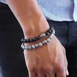 Stalen armband met jasper stenen boeddha__1049915__1__thumb