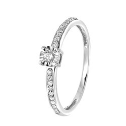14 Karaat witgouden ring met diamant__1047324__0__thumb