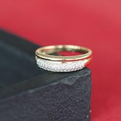 14 Karaat geelgouden ring met diamant__1037601__2__thumb