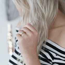 14 Karaat geelgouden ring met diamant__1037601__1__thumb