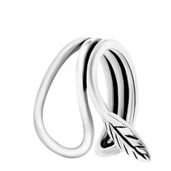 Fake-Piercing aus 925 Silber, Feder, 10 mm, Bali__1054015__0__thumb
