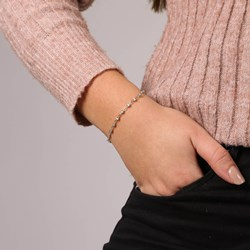 14 Karaat geelgouden armband met diamant 0,30ct__1047961__1__thumb