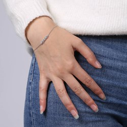 Armband in 925 Silber Blumen mit Zirkonia__1028269__1__thumb