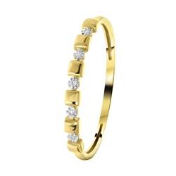 Ring, 585 Gelbgold, 5 Diamanten (0,015 ct)__1056247__0__thumb