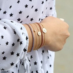Zilveren armband gold disc/galaxy ster zirkonia__1055479__1__thumb