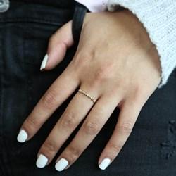 Ring, 585 Gelbgold, 5 Diamanten (0,015 ct)__1056247__1__thumb