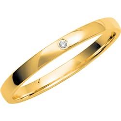 14K geelgouden trouwring Gentle dames dia  H236__1056629__1__thumb