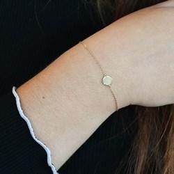 Zilveren goldplated armband disc__1054257__1__thumb